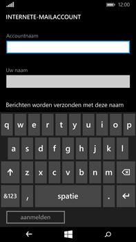Microsoft Lumia 640 XL - E-mail - Handmatig instellen - Stap 10