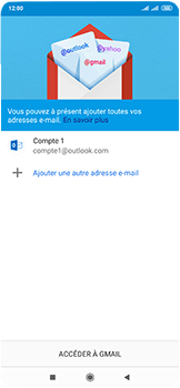 Xiaomi Mi Mix 3 5G - E-mail - 032c. Email wizard - Outlook - Étape 13