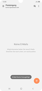Samsung Galaxy A50 - E-Mail - 032c. Email wizard - Outlook - Schritt 11