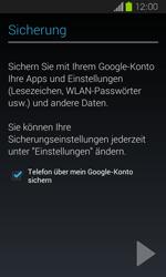 Samsung Galaxy Express - Apps - Einrichten des App Stores - Schritt 22
