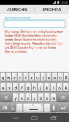 Huawei Ascend P7 - SMS - Manuelle Konfiguration - Schritt 8