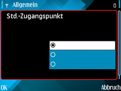 Nokia E71 - Internet - Manuelle Konfiguration - 24 / 29