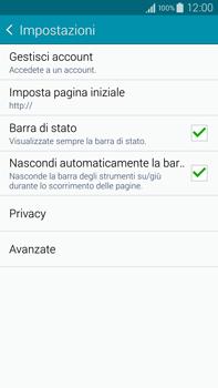 Samsung Galaxy Note 4 - Internet e roaming dati - Configurazione manuale - Fase 25
