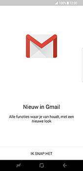 Samsung Galaxy S8 - E-mail - Handmatig instellen (gmail) - Stap 5