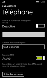 Nokia Lumia 530 - Messagerie vocale - Configuration manuelle - Étape 8