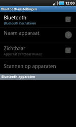 Samsung I9000 Galaxy S - bluetooth - headset, carkit verbinding - stap 6