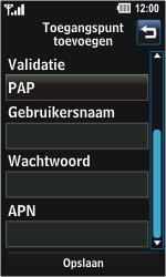 LG GD510 Pop - Internet - handmatig instellen - Stap 7