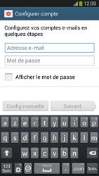 Samsung G386F Galaxy Core LTE - E-mail - configuration manuelle - Étape 5