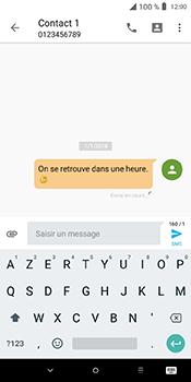 Alcatel 3L - Contact, Appels, SMS/MMS - Envoyer un SMS - Étape 12
