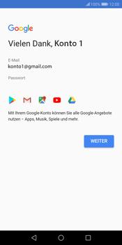 Huawei P Smart - Apps - Konto anlegen und einrichten - 17 / 20