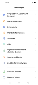 Oppo Find X2 Neo - Software - Installieren von Software-Updates - Schritt 4
