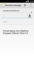 Bouygues Telecom Ultym 5 II - E-mails - Envoyer un e-mail - Étape 5