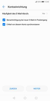 Huawei P Smart - E-Mail - Konto einrichten - Schritt 17