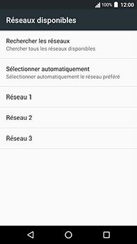 Acer Liquid Zest 4G Plus - Réseau - Sélection manuelle du réseau - Étape 8