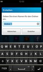 BlackBerry Z10 - Startanleitung - Personalisieren der Startseite - Schritt 5