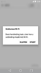 LG K10 (2017) - wifi - handmatig instellen - stap 4