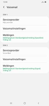 Samsung Galaxy A50 - voicemail - handmatig instellen - stap 8