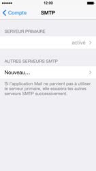 Apple iPhone 5s - E-mail - Configuration manuelle - Étape 22