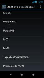 HTC Desire 310 - MMS - Configuration manuelle - Étape 12