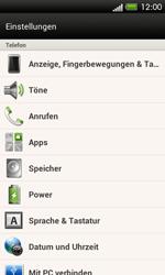 HTC C525u One SV - Anrufe - Rufumleitungen setzen und löschen - Schritt 4