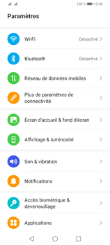 Huawei Y6P - Internet et connexion - Utiliser le mode modem par USB - Étape 3