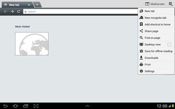 Samsung N8000 Galaxy Note 10-1 - Internet - Manual configuration - Step 18