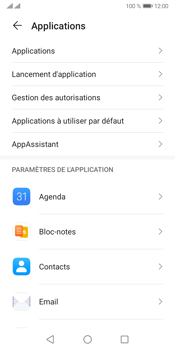 Huawei Y5P - Applications - Supprimer une application - Étape 4