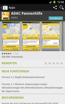 Samsung Galaxy Note - Apps - Herunterladen - 1 / 1