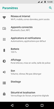 Motorola Moto G6 - Internet et connexion - Partager votre connexion en Wi-Fi - Étape 4