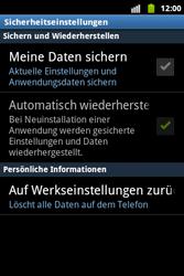 Samsung Galaxy Xcover - Fehlerbehebung - Handy zurücksetzen - 1 / 1