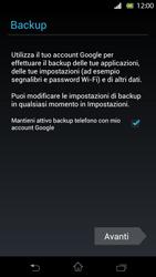 Sony Xperia T - Applicazioni - Configurazione del negozio applicazioni - Fase 14