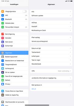 Apple ipad-pro-10-5-inch-met-ipados-13-model-a1709 - Beveiliging en ouderlijk toezicht - Hoe wijzig ik mijn SIM PIN-code - Stap 3