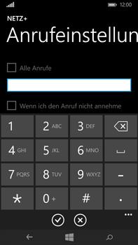 Microsoft Lumia 640 XL - Anrufe - Rufumleitungen setzen und löschen - Schritt 8
