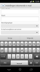 Sony C5503 Xperia ZR - e-mail - handmatig instellen - stap 11