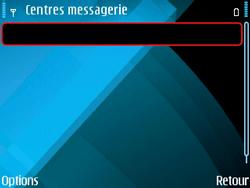 Nokia E71 - SMS - configuration manuelle - Étape 8