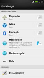 HTC Desire 601 - MMS - Manuelle Konfiguration - 4 / 19