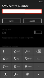 HTC Windows Phone 8X - SMS - Manual configuration - Step 6