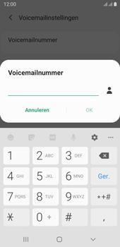 Samsung galaxy-j6-sm-j600fn-ds-android-pie - Voicemail - Handmatig instellen - Stap 9