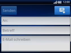Sony Ericsson Xperia X10 Mini Pro - E-Mail - E-Mail versenden - Schritt 5