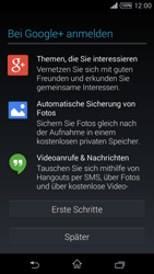 Sony Xperia T3 - Apps - Konto anlegen und einrichten - 19 / 22