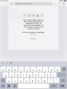 Apple ipad-air-2-met-ipados-13-model-a1567 - Internet - Hoe te internetten - Stap 4