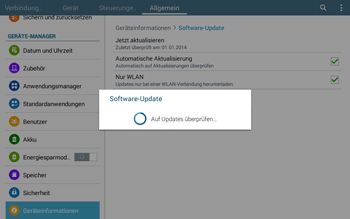 Samsung T535 Galaxy Tab 4 10.1 - Software - Installieren von Software-Updates - Schritt 10
