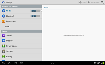 Samsung Galaxy Tab 2 10.1 - Bluetooth - Connecting devices - Step 4