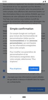 Google Pixel 3a - Applications - Créer un compte - Étape 18