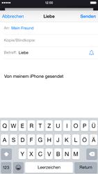 Apple iPhone 6 - E-Mail - E-Mail versenden - 0 / 0