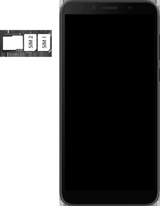 Huawei Y5P - Premiers pas - Insérer la carte SIM - Étape 5