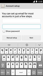Huawei Ascend G6 - E-mail - Manual configuration IMAP without SMTP verification - Step 8