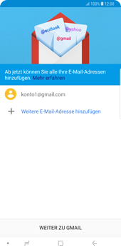 Samsung Galaxy Note9 - E-Mail - Konto einrichten (gmail) - Schritt 13