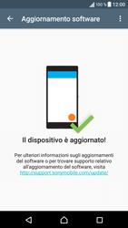 Sony Xperia XA - Software - Installazione degli aggiornamenti software - Fase 7