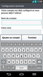 LG G2 - E-mail - Configuration manuelle - Étape 17